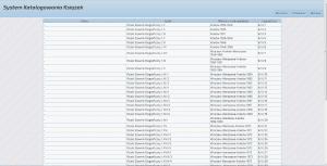 System Katalogowania Książek - dostęp przez www