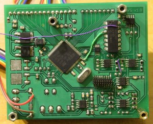 Generator przebiegów arbitralnych - PCB
